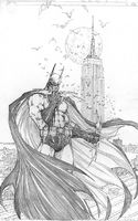 sketchbookcover Batman NY comic-con