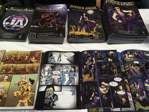 Justice Angel Comic
