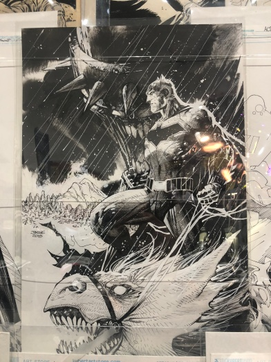 Art by: Jim Lee