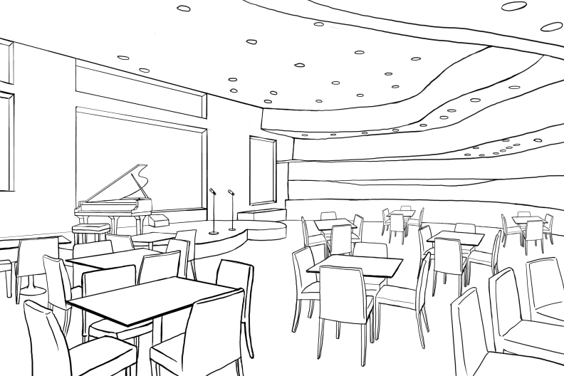 Heart to Heart Concept Art Jazz Lounge