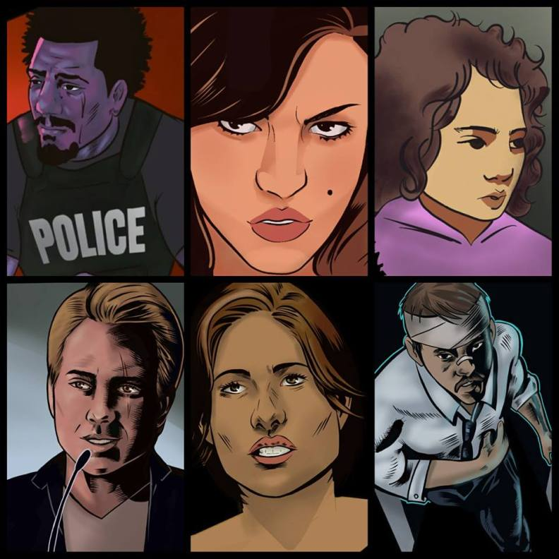 The Main Characters of Issue 1