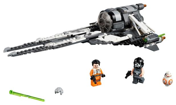 75242 Star Wars Black Ace TIE Interceptor