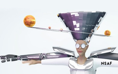 NeuroSpeculative Afro-Feminism by Ashley Baccus-Clark by hyphen-labs