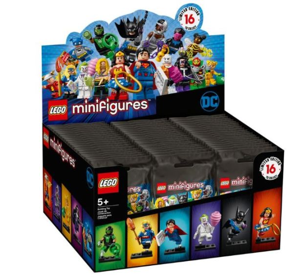 mini figures dc