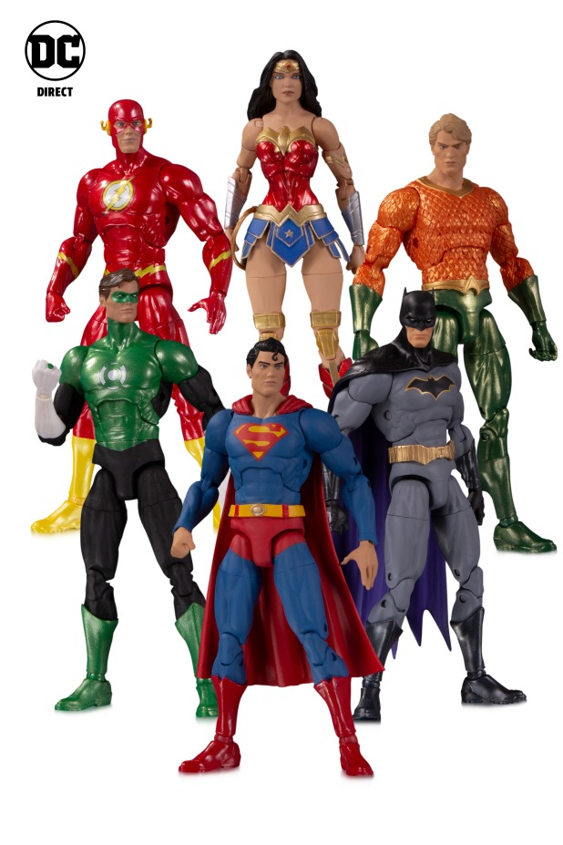 DC_Essentials Justice League 6 Pack